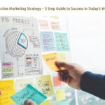 Effective Marketing Strategy – 3 Step Guide to Success in Today's World